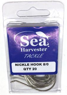 NICKLE BEAK HOOK 8/0 BULK 20
