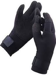 DIVE GLOVE KEVLAR LARGE 3MM BLACK