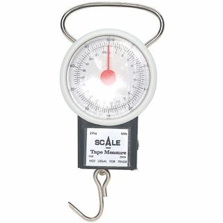 SCALE WITH TAPE 50LB