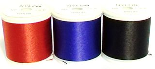 BINDING THREAD 100 YDS RED COLOUR