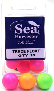 TRACE FLOAT ORANGE 10 PK(20MM)