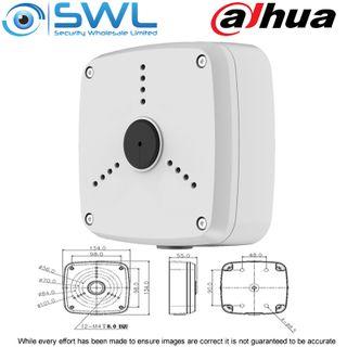 Dahua PFA122 - IP66 Rated Back Box For 3 Hole Varifocal Eyeballs + Bullets