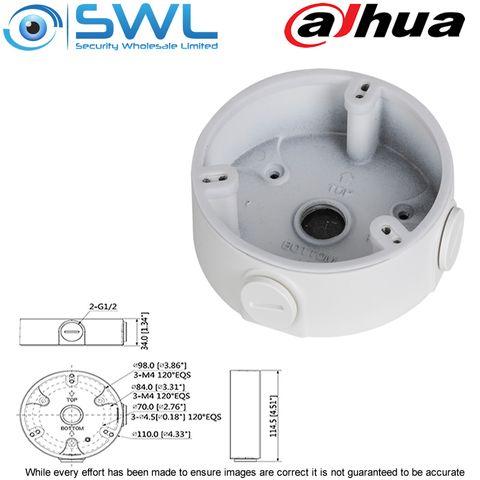 Dahua PFA136: Back Box For Fixed Lens Domes