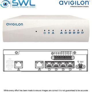 Avigilon VMA-RPO-4P2: 4-Port PoE ACC ES HD Recorder, 2Tb Storage