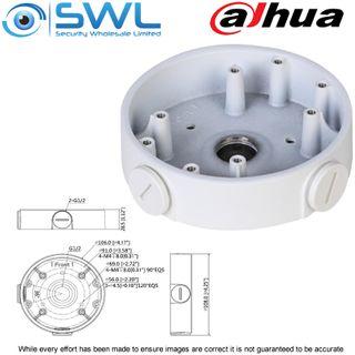 Dahua PFA139: Back Box For Fixed Lens Wedge & Turret Cameras