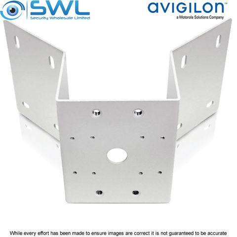 CTW Avigilon H4-MT-CRNR1 Aluminum Corner Mounting Bracket For H4A-DP Dome Cams