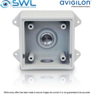 Avigilon H4-BO-JBOX1: Wall Mount Back Box for H5-BO Bullets