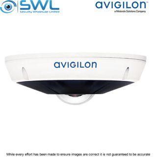 Avigilon 6.0L-H4F-DO1-IR 6Mp Fisheye Camera LightCatcher IR 10m IP66 IK10 1.45mm