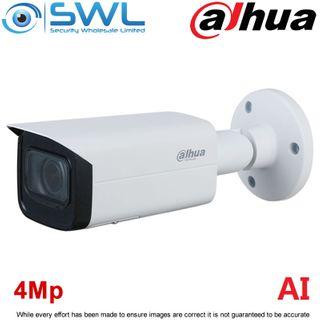 Dahua IPC-HFW3441TP-ZS: 4Mp Bullet -AI- WDR IR60m IP67 2.7~13.5mm Motorised