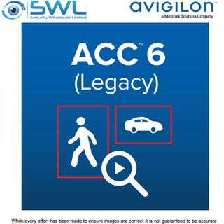Avigilon ACC 6.0 Core 4 Camera Licence - EOL 31/12/20
