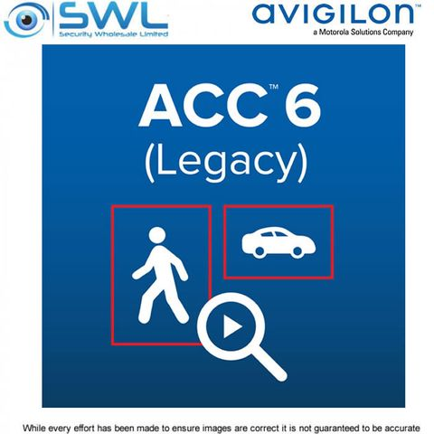 Avigilon ACC 6.0 Standard HD NVMS 8 Camera Channel Licence