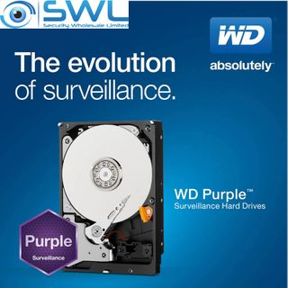"Western Digital Purple Hard Drive 3.5"" 8Tb Installed - 3 Year Warranty"