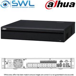 Dahua NVR 5424-24P-4KS2: 24ch, 24x PoE, 4x HDD. No Hard Drives Included.