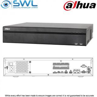 Dahua NVR 608-32-4KS2: 32ch, No PoE. 2x NIC, 8x HDD. No Hard Drives Included.