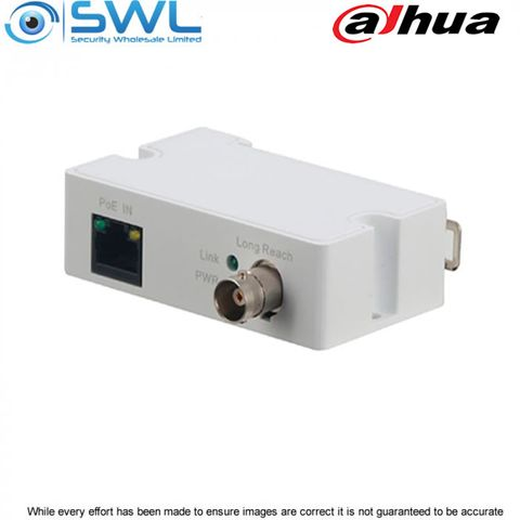 Dahua LR1002-1ET PoC Power & Ethernet over Coax Transmission Balun 300m