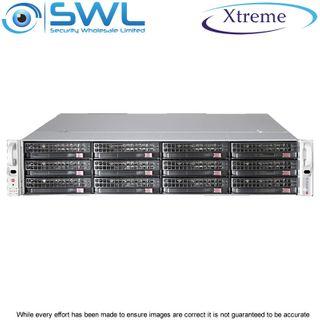 Xtreme NVR OS 240Gb SSD.12x 8Tb, 88Tb After RAID 5, 2x 10GbE NICs, 400 Mbps