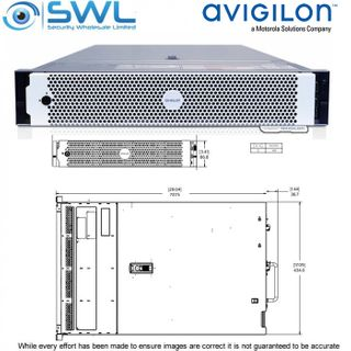 Avigilon Artificial Intelligence Appliance A10, 2U Rack Mnt, 30 x 2Mp Capacity
