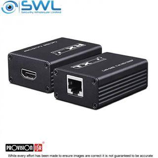 Provision-ISR PR-HDoNet-E HDMI Extender Over Cat5e/Cat6, Extend 10-20 Metres