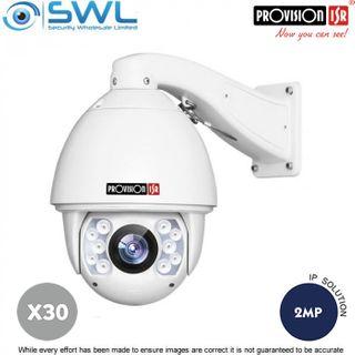Provision-ISR Z-30IPE-2(IR) Ultra-Z 2Mp PTZ DWDR IR 150m 30x Zoom IP66 4.3-129mm
