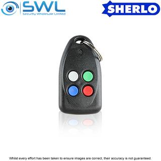 Sherlotronics TX-4 433MHz 4 Button Key Ring Transmitter