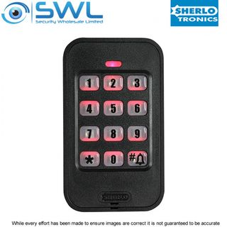 Sherlotronics Wireless Keypad 433MHz - Battery or 12VDC