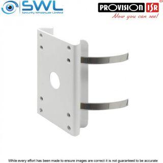 Provision-ISR PR-B50PB Pole Mount Bracket for Waterproof Junction Boxes
