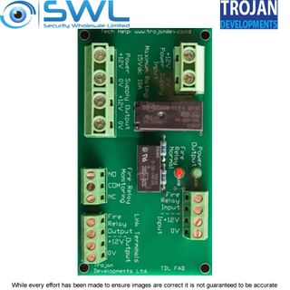 Trojan TDL FAB – Fire Alarm Interface 12VDC