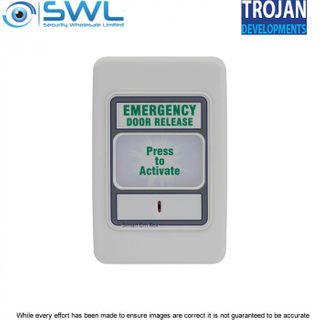 Trojan SMART Em Rex Emergency Backlit Door Exit Release Unit