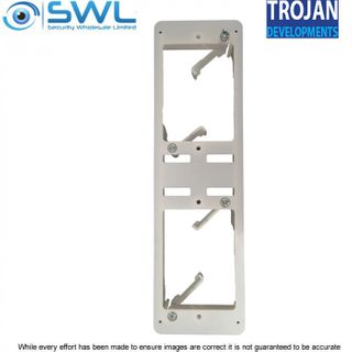 Trojan TDL-VDFB – Vertical Double Flush Box - Whte