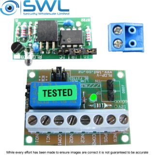 Double Pole 1 Amp Multi Function Timer Kit  RLDP-V & CB1