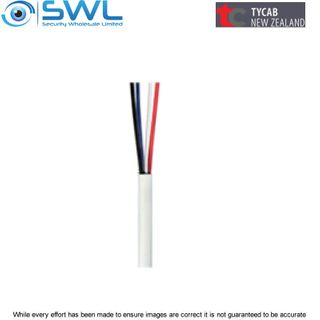 TYCAB 4 Core 0.22mm Tinned Security Cable 100m Reel