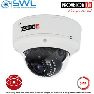 Provision-ISR DAI+250IP5MVF Eye-Sight 5Mp Dome(A) WDR IR25m IP66 IK10 3.3-10.5mm