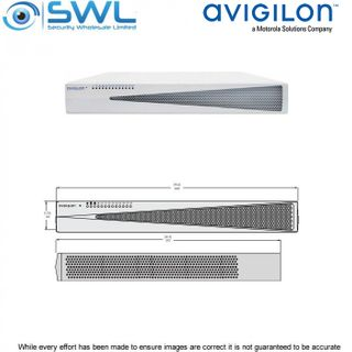 Avigilon VMA-AS3-8P8-AU 8ch Appliance NVR with 8Tb Storage & 8 PoE Ports