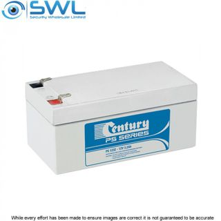 Century 12v 3.2 A/H Sealed Lead Acid Battery
