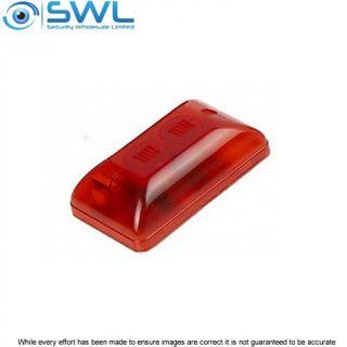 WP94 Mini Red Combo Siren / Strobe 12VDC, 250mA, 105dB