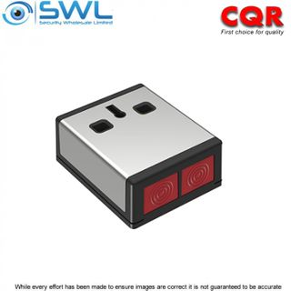 CQR Double Push PADP3 Grade 3 Hold Up Device - Stainless Steel Case