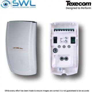 Texecom Premier Elite: AFE-0001 TD Twin Dual Element PIR Detector: 15m