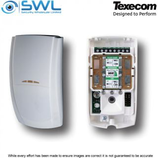Texecom Premier Elite: DT: AFG-0002 Microwave & Infrared PIR Detector: 15m