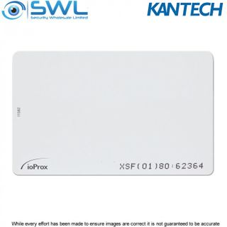 Kantech P20DYE ioProx card: XSF/ 26-bit Wiegand, Thin Card, Printable, MOQ 50