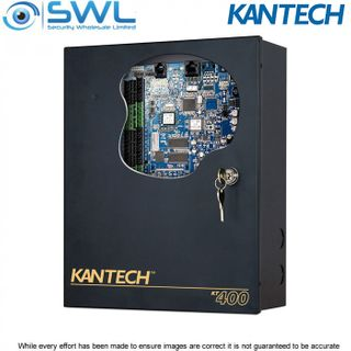 Kantech KT-400: 4 Door Controller (IP Ready), Accessory Kit, Cabinet c/w Lock