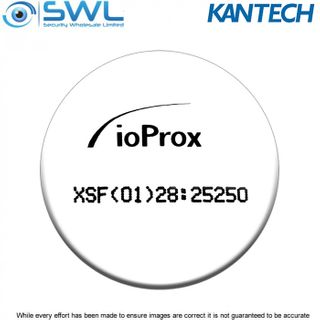 Kantech P50 TAG ioProx Self-adhesive Round Tag: XSF/ 26-bit Wiegand