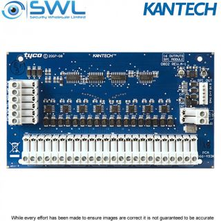 Kantech KT-MOD-OUT16: KT-400 Expansion Module 16-Zone OUTPUT c/w SPI Cable