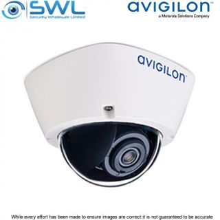 Avigilon 2.0C-H5A-D1 Indoor Surface 2Mp Dome: Analytic WDR 3.3-9mm