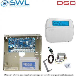 DSC Neo HS2032 Cabinet Kit: Transformer, Tamper & HS2LCDPSN Keypad c/w Prox