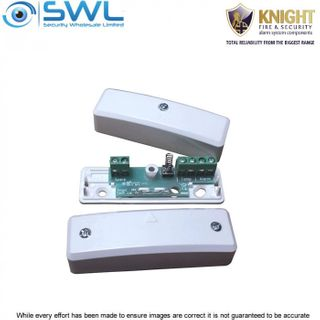 KNIGHT D75: Indoor SM Reed Switch, 35mm Gap, N/C, 6 Terminal, Tamper