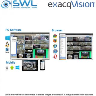 exacqVision ENTERPRISE IP Camera License, per Camera. 1 Year SSA.