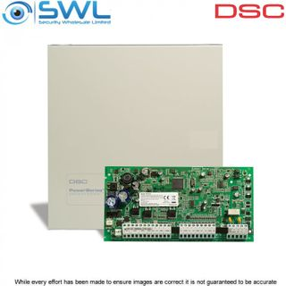 DSC PowerSeries: PC1616 Alarm Panel 6 to 16 Zones c/w Cabinet