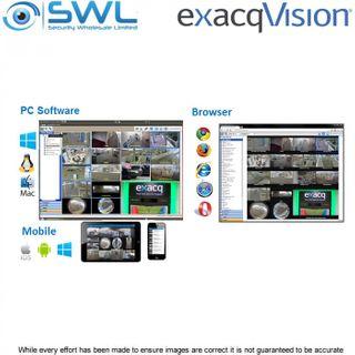 exacqVision EDGE PLUS SSA: Software Updates per IP Camera, per Year.