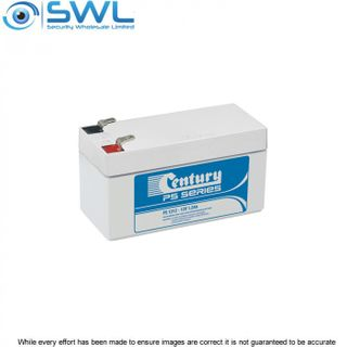Century 12v 1.2 A/H Sealed Lead Acid Battery