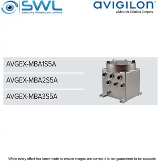 Avigilon AVGEX-MBA1S5A: Communication Box c/w Ethernet Switch & Power Supply